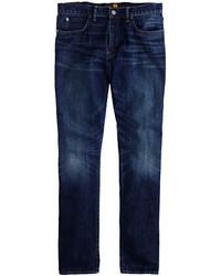 J.Crew 770 Japanese Denim Jean In Vintage Dark Indigo Wash