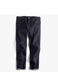 J.Crew 770 Straight Fit Stretch Jean In Indigo Raw Selvedge