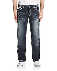Affliction Blake Fleur Flap Pocket Jeans