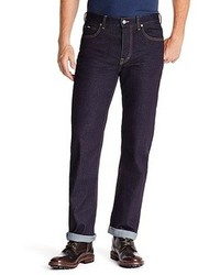 Hugo Boss Alabama Comfort Fit 11 Oz Stretch Cotton Jeans