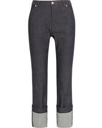 Vanessa Seward Alabama High Rise Straight Leg Jeans Blue