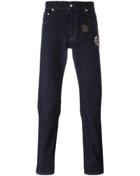 Alexander McQueen Denim Patch Jeans