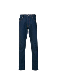 AMI Alexandre Mattiussi Ami Fit 5 Pockets Jeans With Contrasted Cuff