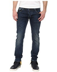 Armani Jeans Armani Jean Slim Fit Low Wait Bleached Denim Jean