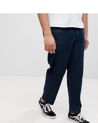 ASOS DESIGN Asos Plus Skater Jeans In Indigo