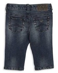 Armani Junior Babys Five Pocket Jeans