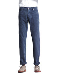 Brunello Cucinelli Basic Fit Jeans Navy