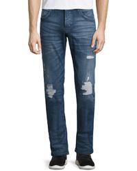 Hudson Blake Slim Straight Leg Jeans Blue