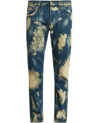 Gucci Bleached Slim Fit Jeans