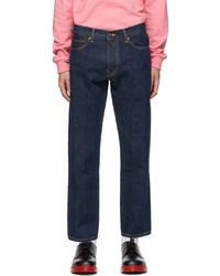 Noah Blue 5 Pocket Jeans