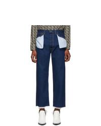Maison Margiela Blue Decortique Jeans