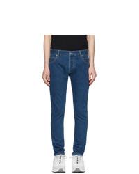 Balmain Blue Logo Jeans