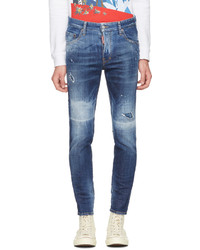 DSQUARED2 Blue Skater Jeans