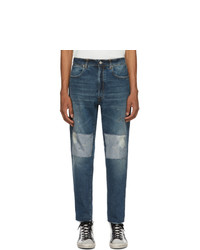 Golden Goose Blue Vintage Work Jeans