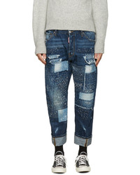 DSQUARED2 Blue Work Wear Jeans
