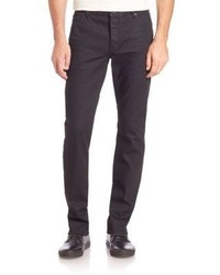 John Varvatos Buttoned Slim Fit Jeans