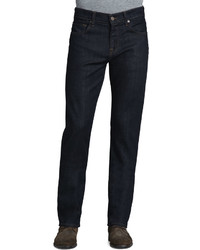 7 For All Mankind Carsen Dark Clean Jeans Indigo