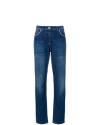 Versace Chain Trimmed Jeans