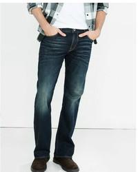 Express Classic Boot Dark Wash Stretch Jeans