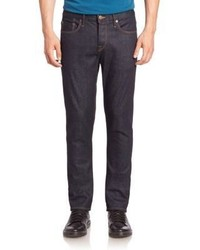 Burberry Classic Fit Dark Rinsed Jeans
