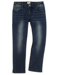 Armani Junior Classic Slim Fit Denim Jeans Blue Navy Size 4 12