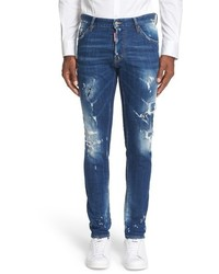 DSQUARED2 Cool Guy Slasher Slim Fit Jeans