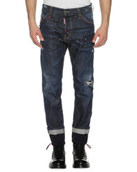 DSQUARED2 Cool Guy Straight Jeans Wdrawstring Cuffs