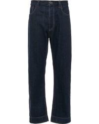 Prada Cropped Five Pocket Jeans