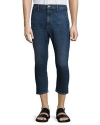 Vince Cropped Straight Fit Jeans