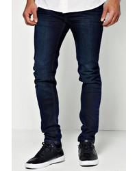Boohoo Dark Blue Skinny Jean