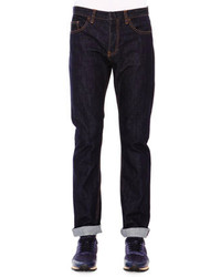 Valentino Dark Clean Wash Denim Jeans Blue