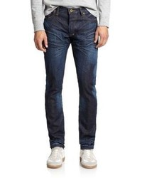 PRPS Dark Wash Selvedge Straight Leg Jeans