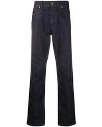 Salvatore Ferragamo Dark Wash Straight Leg Jeans