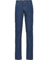 Prada Denim Bootcut Trousers