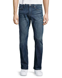 Frame Denim Lhomme Sierra Skinny Denim Jeans Dark Blue