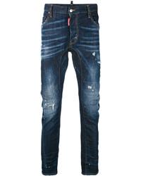 DSQUARED2 Denim Slashed Knee Jeans