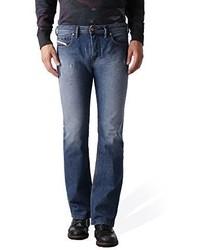 Diesel Zatiny Trousers In Denim 844u Denim Jeans