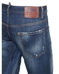 DSQUARED2 16cm Sexy Twist Stitched Denim Jeans