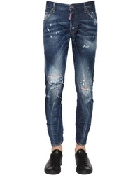 DSQUARED2 16cm Sexy Twist Stitched Denim Jeans