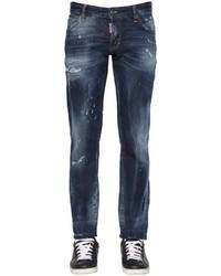 DSQUARED2 18cm Slim Fit Aqua Stretch Denim Jeans