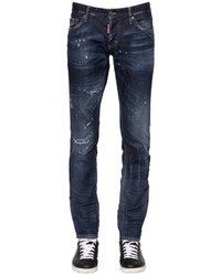 DSQUARED2 18cm Slim Officer Stretch Denim Jeans