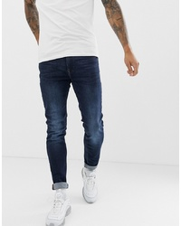 BLEND Echo Tapered Fit Jean In Dark Wash