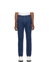 Calvin Klein Jeans Est. 1978 Est 1978 Blue Logo Narrow Jeans