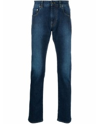 Etro Faded Effect Slim Fit Jeans
