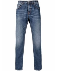 Eleventy Faded Slim Cut Jeans