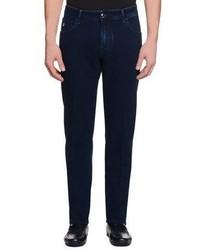 Stefano Ricci Five Pocket Slim Fit Denim Jeans Denim