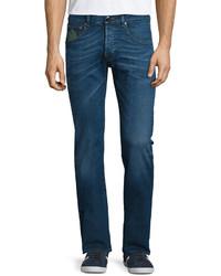 Etro Five Pocket Slim Fit Denim Jeans Medium Blue