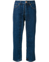 Aalto Fixed Pleats Cropped Jeans