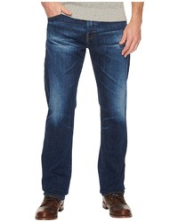 AG Adriano Goldschmied Graduate Tailored Leg Denim In 15 Years Wrecked Jeans