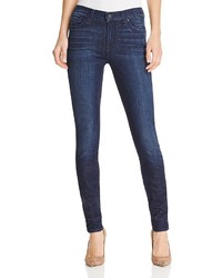 7 For All Mankind Gwenevere Skinny Jeans In Bela Dark Blue